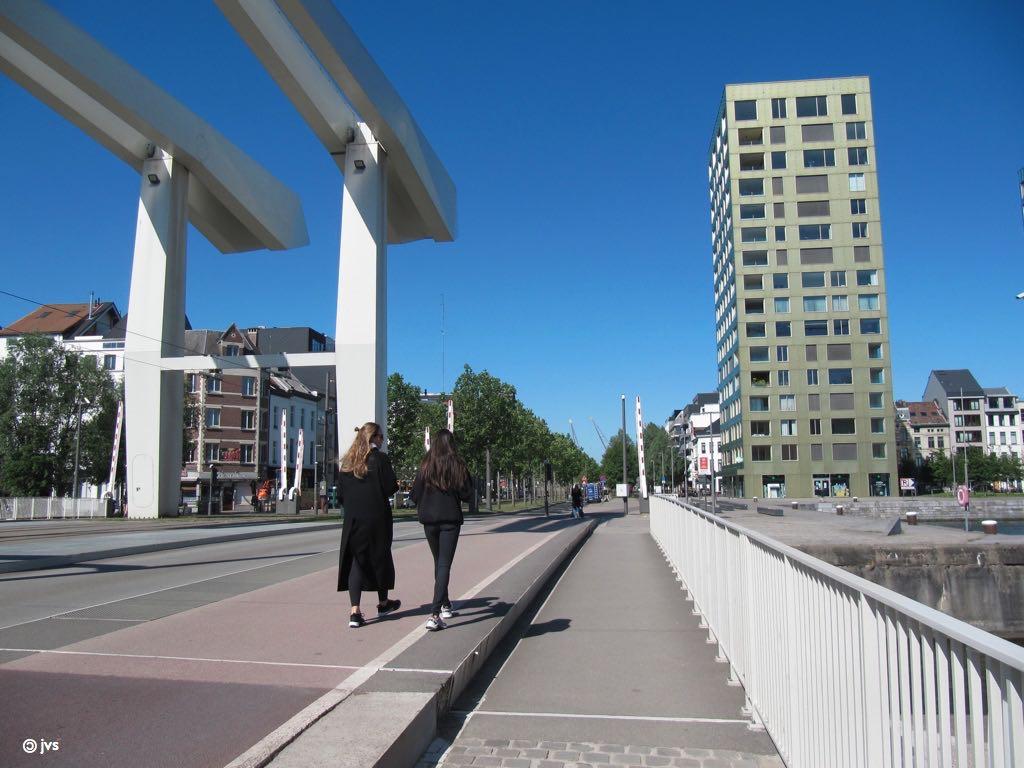 Londenbrug in Antwerpen